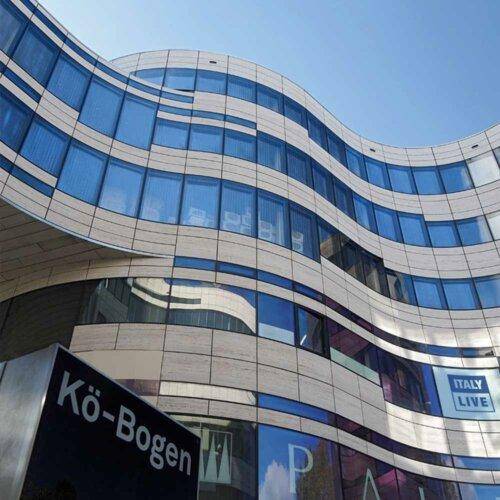 Recycling-Produkte in modernen Architekturprojekten - Kö Bogen