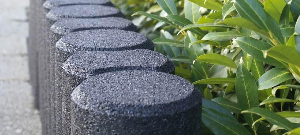 Conradi+Kaiser Begrenzungssysteme Altreifen Recycling, Gummi-Recycling und Kreislaufwirtschaft