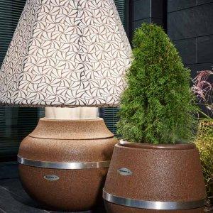 Conradi+Kaiser Lampe Gratus, Altreifen Recycling, Gummi-Recycling und Kreislaufwirtschaft