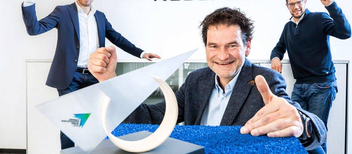 Umweltwirtschaftspreis.NRW, Altreifen Recycling, Gummi-Recycling und Kreislaufwirtschaft
