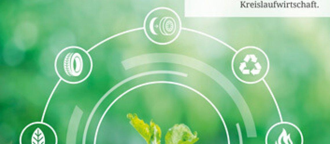 Titelseite NEW LIFE Magazin, Altreifen Recycling, Gummi-Recycling und Kreislaufwirtschaft