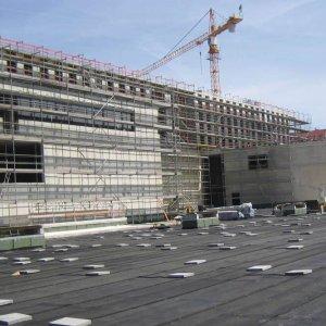 Kraiburg-Relastec-Bautenschutzmatten Altreifen Recycling, Gummi-Recycling und Kreislaufwirtschaft
