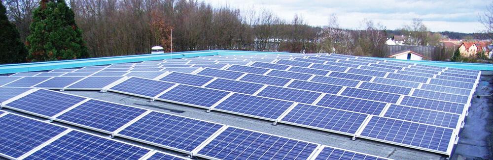 Schutzanlagen Photovoltaik, Altreifen Recycling, Gummi-Recycling und Kreislaufwirtschaft