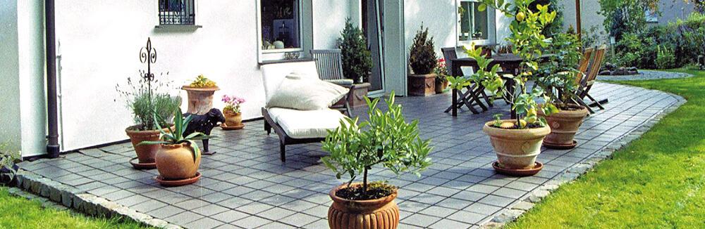 Terrassen und Balonbelag, Altreifen Recycling, Gummi-Recycling und Kreislaufwirtschaft